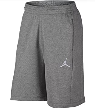 ab02af3ee0153 Nike Men's Air Jordan AJ Flight Fleece Retro Sweat Shorts AA5613-063 (Size  Large) Heather Gray: Amazon.co.uk: Sports & Outdoors