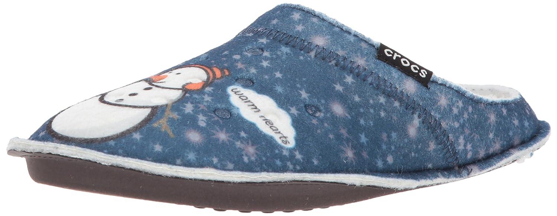 Crocs - Classic Graphic Slipper - Navy