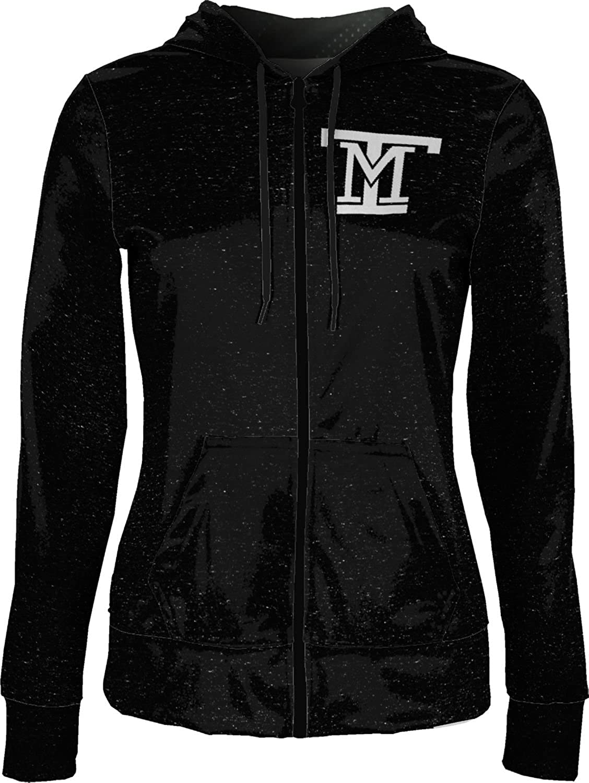 School Spirit Sweatshirt Heathered ProSphere Montana Tech of The University of Montana Girls Zipper Hoodie