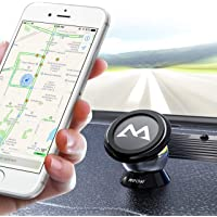 Magnetic Phone Holder, Upgrade Dashboard Car Phone Mount, 360° Rotatable Car Phone Mount Sticky Magnetic Car Holder, Mount for iPhoneXS/XS MAX/XR/8Plus8 7, GalaxyS9 Note S8/9/7, Huawei& Other Handys