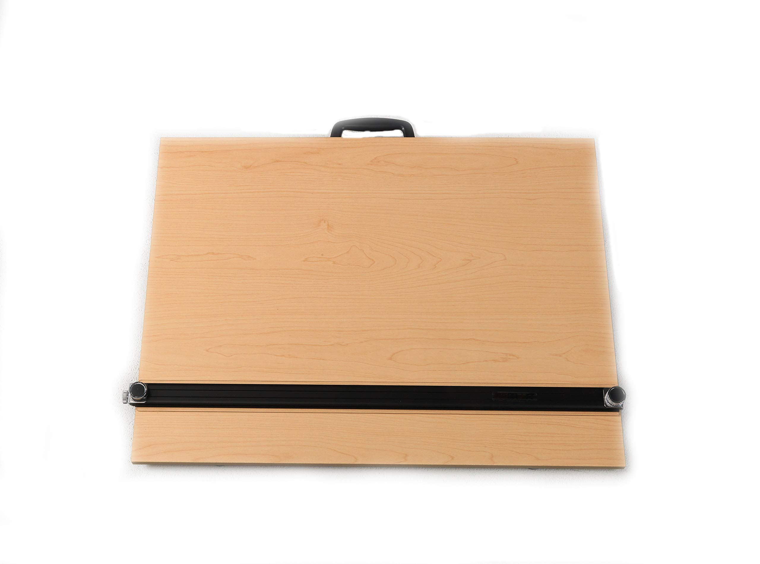 Martin Universal Design Universal Design Pro-Draft Parallel Edge Board with Straightedge and Feet, Woodgrain, 24 x 36 Inches, 1 Each