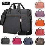 Samaz Shakeproof Nylon Laptop Messenger Shoulder Bag Case Briefcase for 13 - 17 Inch Laptop / Notebook / Ultrabook / Macbook Pro Retina Case
