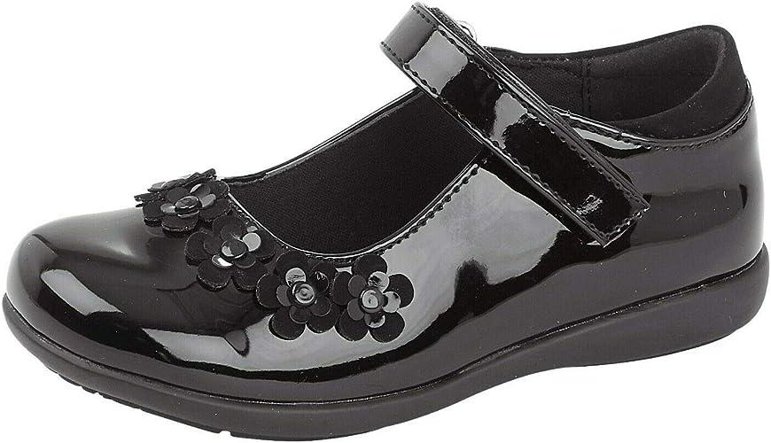 Girls Mary Jane Shoes Size Shiny Patent