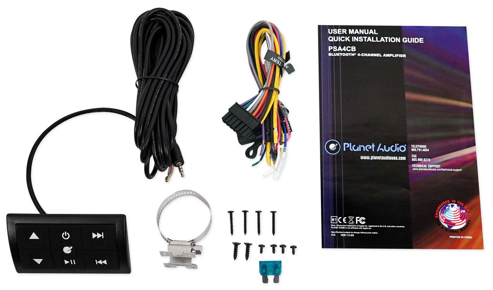 4) Rockville 8'' Tower Speakers+Bluetooth Amplifier+Remote ATV/UTV/RZR/Polaris by Rockville (Image #7)