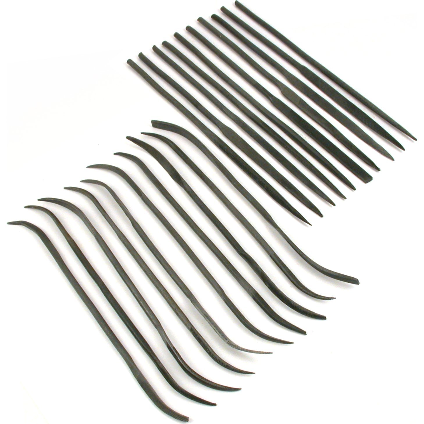 20 Needle Riffler Files Perfect Model Building Tools by FindingKing (Image #1)