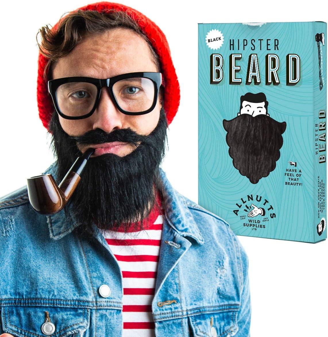 Black /& Ginger Hipster Beard