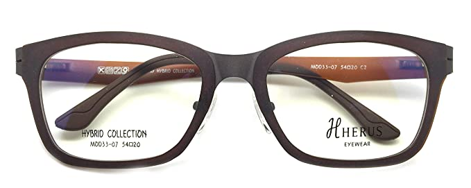 fc4a537a9d Piovino Hybrid Collection Prescription Eye Glasses Frame Metal and Ultem  Herus 33-07 C2