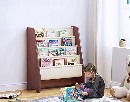 Utex Kids Sling Bookshelf Magazine Rack