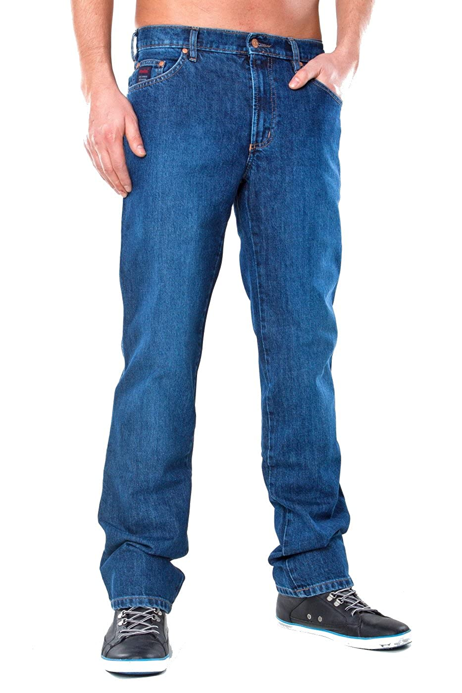 Revils Jeans Hose 302 Classic Stretch, V-24 2, indigo stone washed