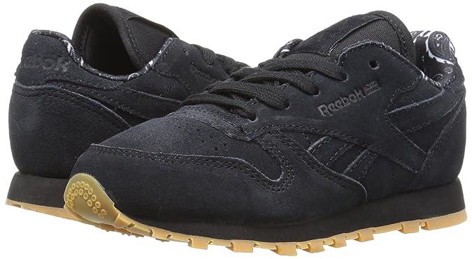 Leather Pelle shoes Tdc Neri Reebok Amazon Cl erxoEQCdBW
