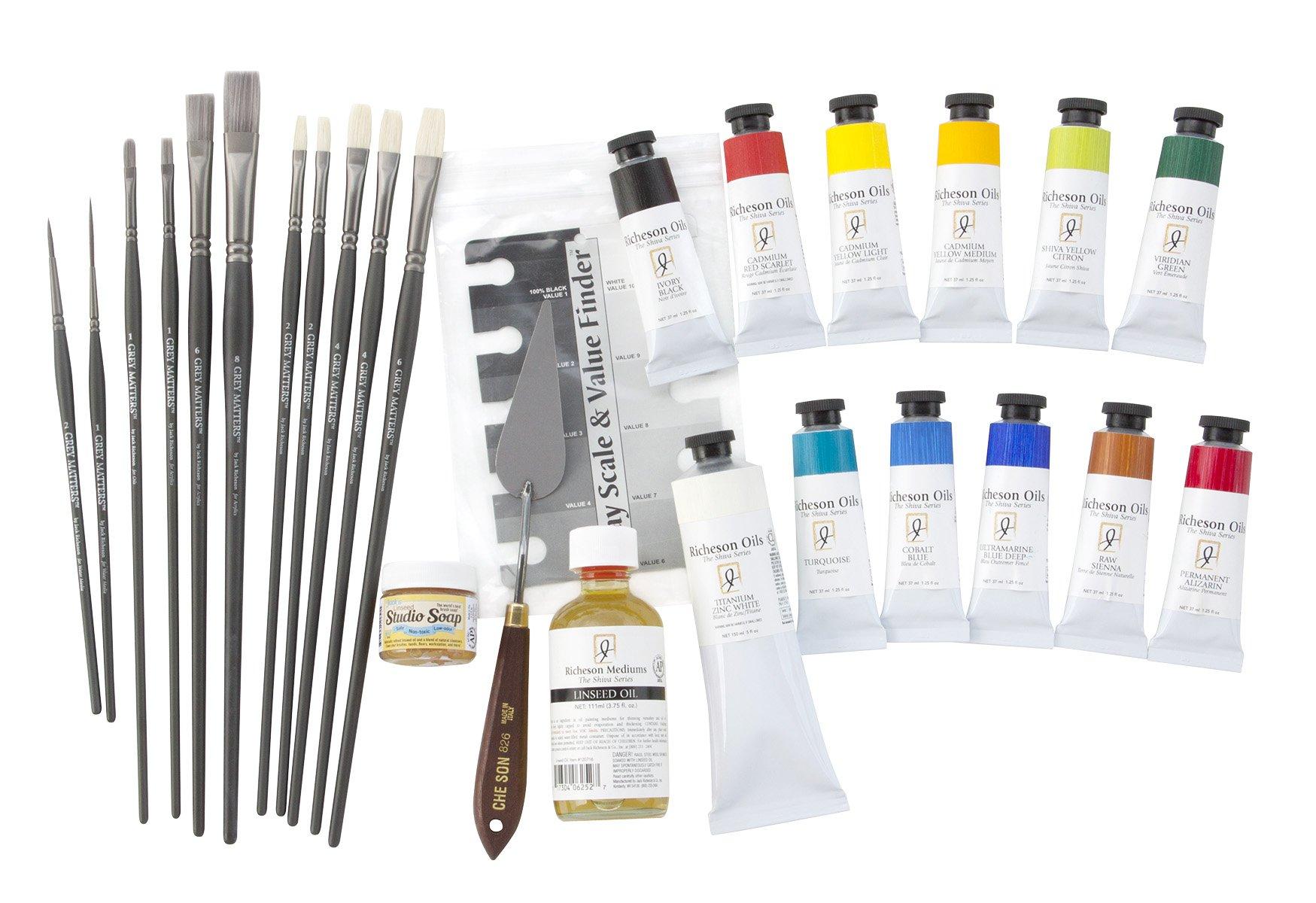 John Cosby Oil Workshop Kit by John Cosby