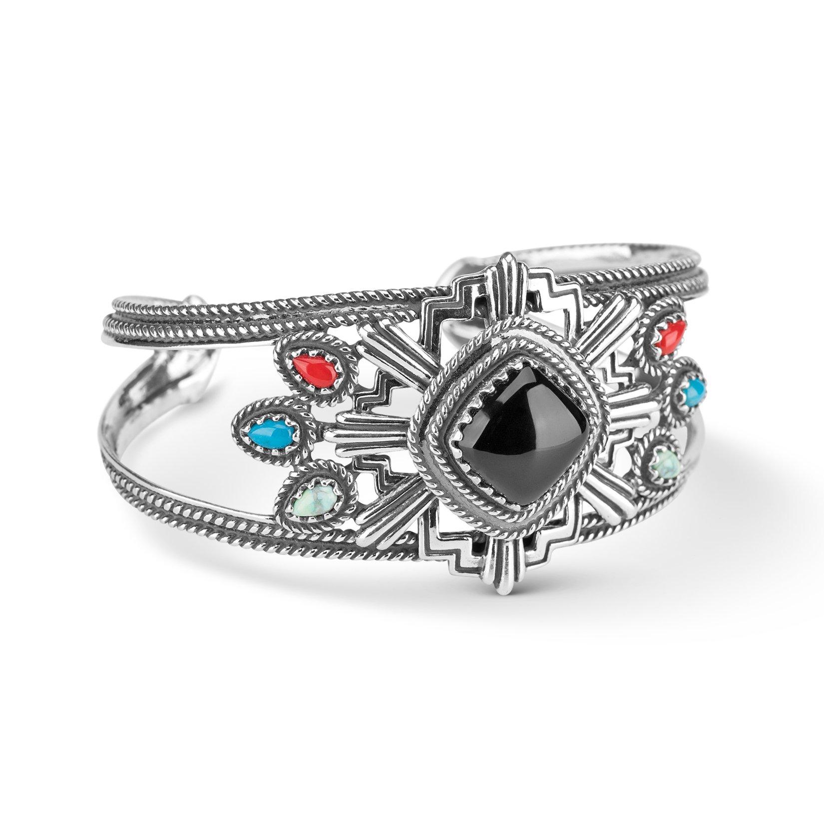 Fritz Casuse Multi Color Zia Cuff Bracelet