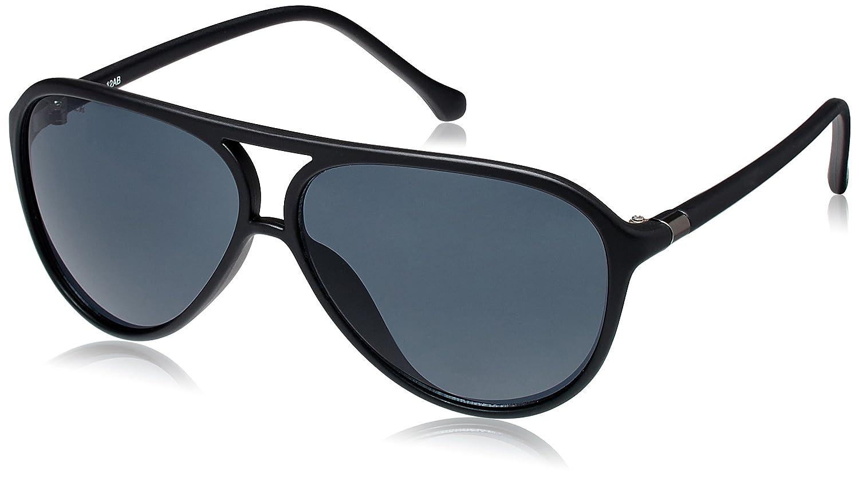 a2c24973322f Fastrack UV Protected Unisex Aviator Sunglasses (P297BK1 64 Grey)(P297BK1)   Amazon.in  Clothing   Accessories