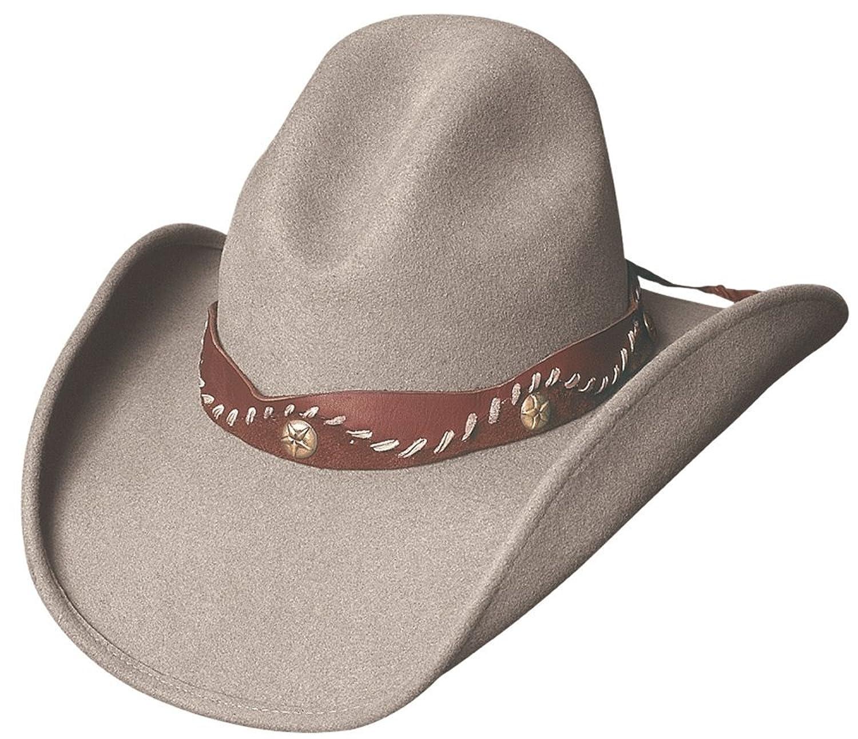 529e7b0ab33 Montecarlo bullhide hats pistol creek wool gus western cowboy hat at amazon  mens clothing store jpg