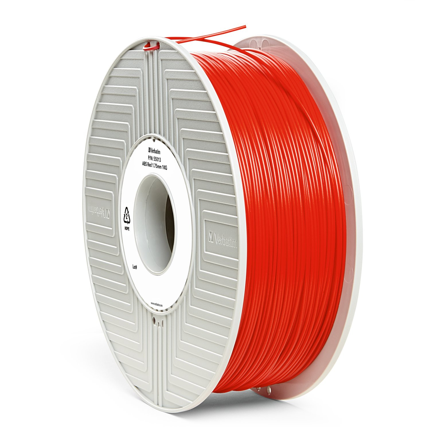 Verbatim 1.75 mm ABS Filament for Printer - White
