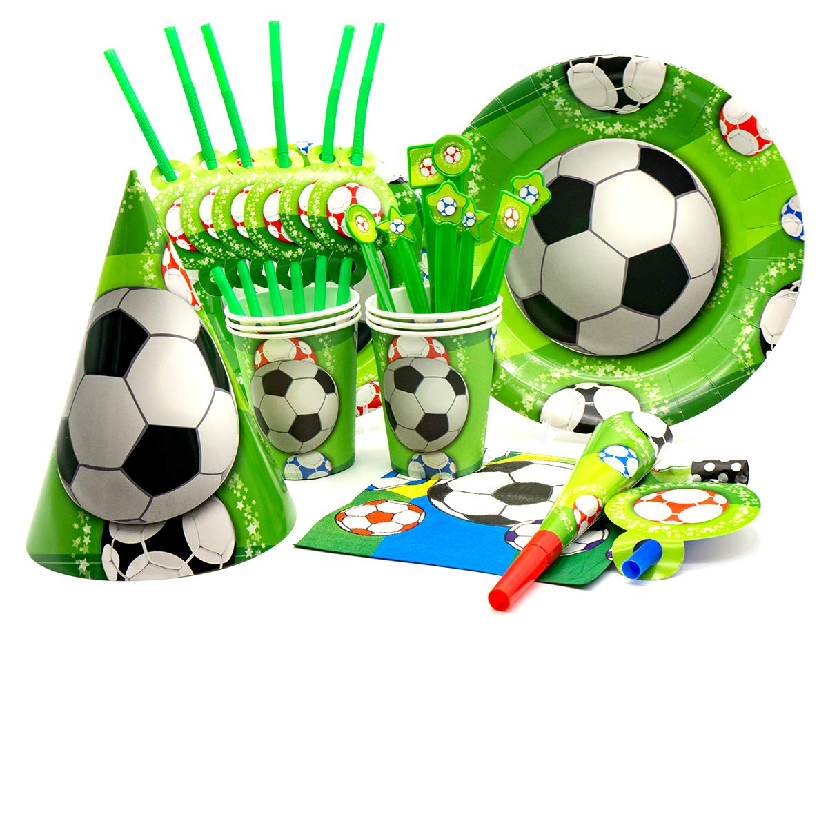 Soccer Party Supplies By Girl Kim