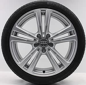 4 Audi A3 S3 8 V Sportback 18 Juego de verano (7,5 x 18 ET51 Original Audi Llantas S: Amazon.es: Coche y moto