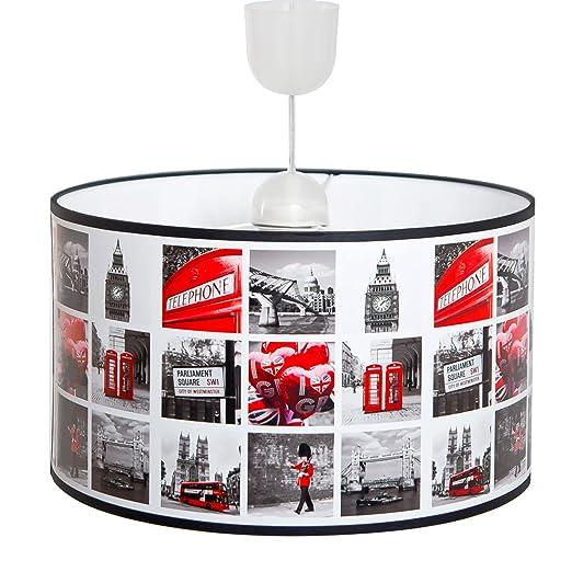 Mix D'image Suspension London Luminaire Motif Plafonnier nwPOX0k8N