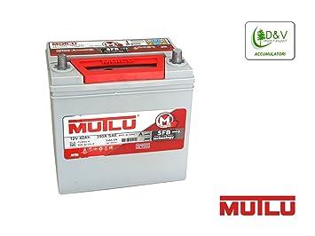 MUTLU 8696693104242 - Batería de coche (42 Ah, 350 A, 12 V ...