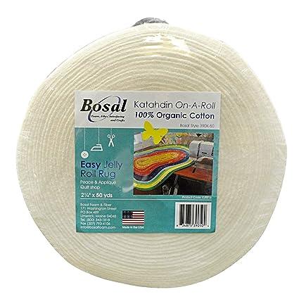 Amazon Bosal Katahdin On A Roll Organic Cotton Batting 2 1 4
