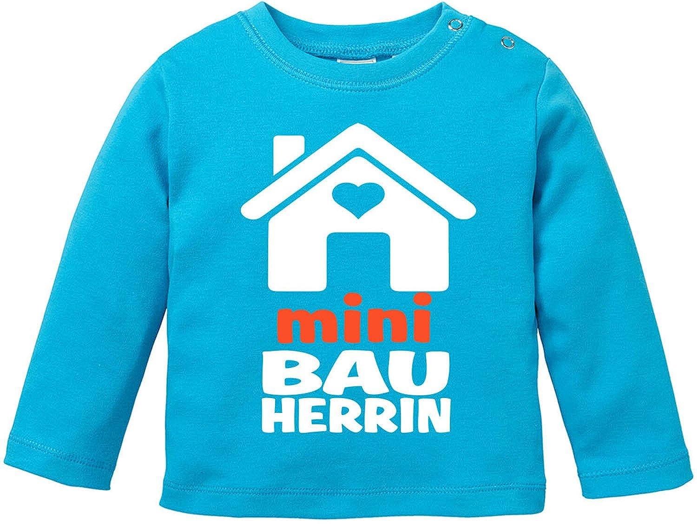 EZYshirt/® Mini Bauherr//in Baby T-Shirt Longsleeve