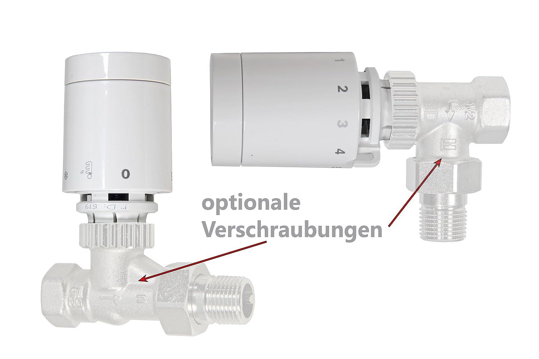 Buderus Logafix T/ête thermostatique BD-R 1/avec bornes de connexion F. Valve de radiateur