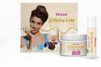 Image Unavailable Not Available For Color TREAT BIRTHDAY CAKE JUMBO LIP BALM