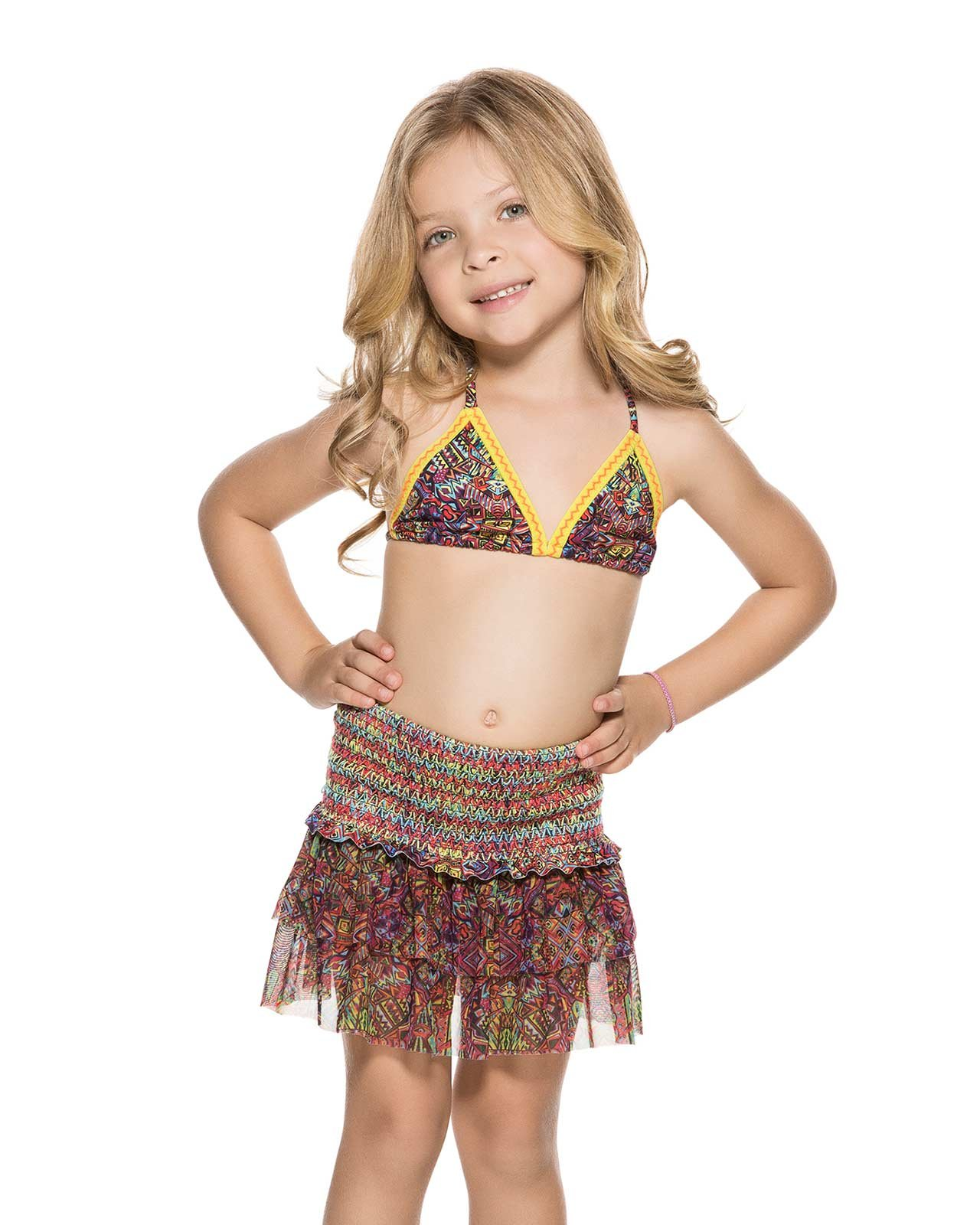 Agua Bendita Swimwear Bendito CEREMONIA Girls Skirt 4