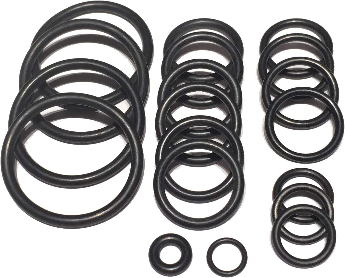 Cooling system radiator hose O ring set For BMW E39 M52 M54 Engines