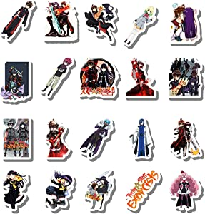 20 Pcs Stickers Pack Twin Aesthetic Star Vinyl Exorcists Colorful Waterproof for Water Bottle Laptop Bumper Car Bike Luggage Guitar Skateboard