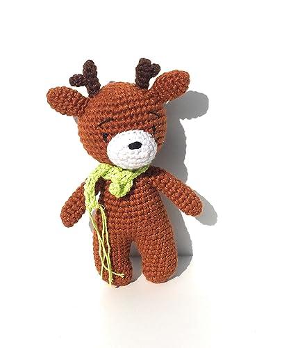 Cuddle Me Reindeer crochet pattern   Christmas crochet patterns ...   500x406