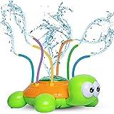 Kids Sprinklers for Yard, Sprinkler Toy for Babies and Toddlers Outdoor Water Toys - Backyard Spinning Turtle Sprinkler…