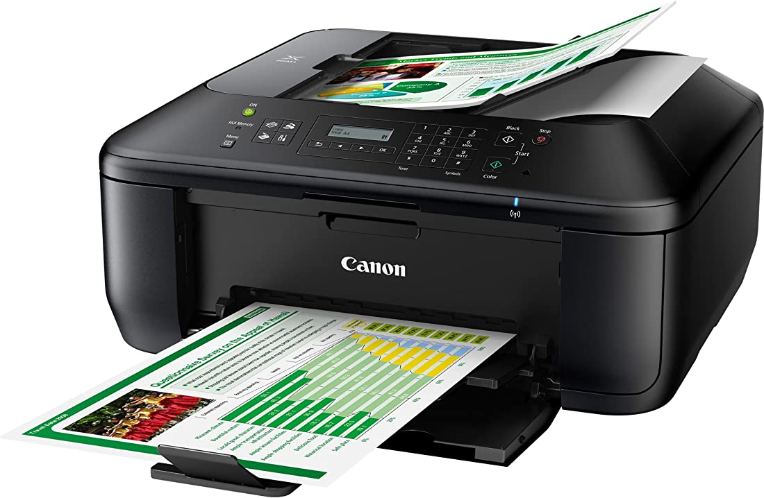 Stampante multifunzione a colori canon pixma mx475 4-in-1, wireless, 4800 x 1200 dpi, nero 4960999990262