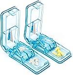 2PCS Pill Cutter, Professional Pill Splitter for Cutting Small Pills or