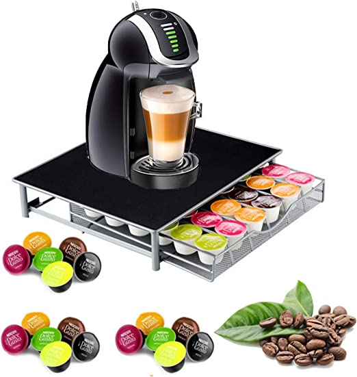 Nespresso - Soporte para 36 cápsulas apilable, soporte para cajón ...