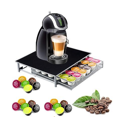 Nespresso - Soporte para 36 cápsulas apilable, soporte para cajón de café, almacenamiento y