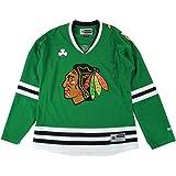 Chicago Blackhawks NHL Green St. Patricks Day Premier Edge Jersey For Women 68979e15a