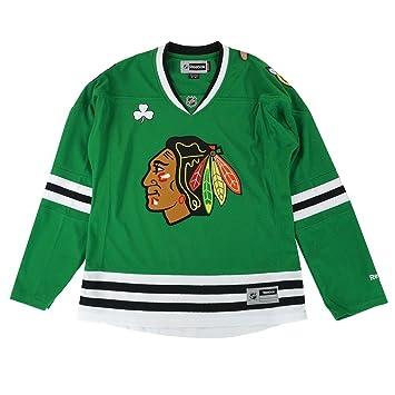 reputable site 8b2c3 8a573 adidas Chicago Blackhawks NHL Green St. Patricks Day Premier Edge Jersey  for Women