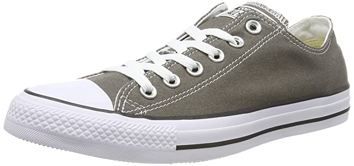 Converse Chucks All Star Low Top Sneaker Damen Herren Unisex Grau