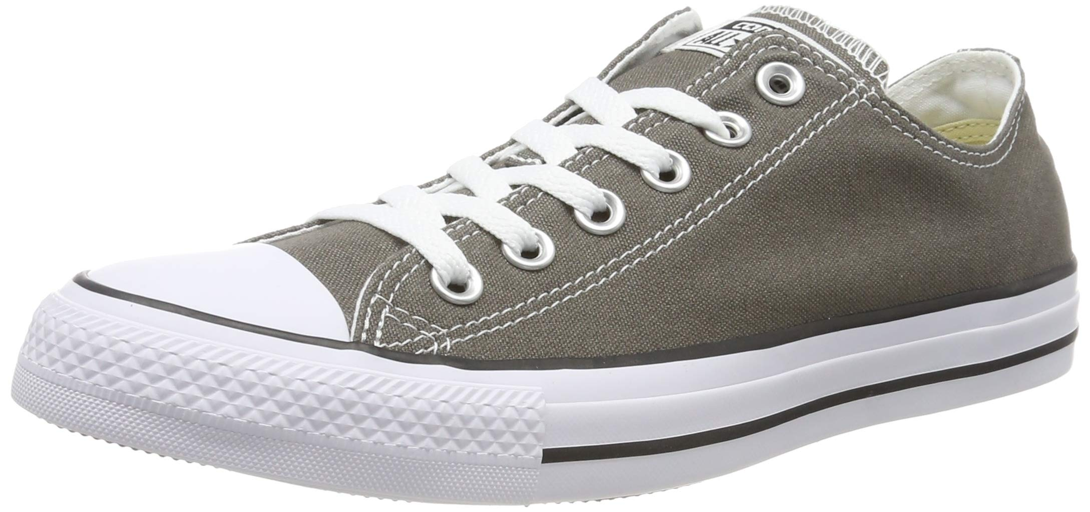 Converse Chuck Taylor Seasonal OX Unisex Shoes Charcoal 1j794 (11 D(M) US)