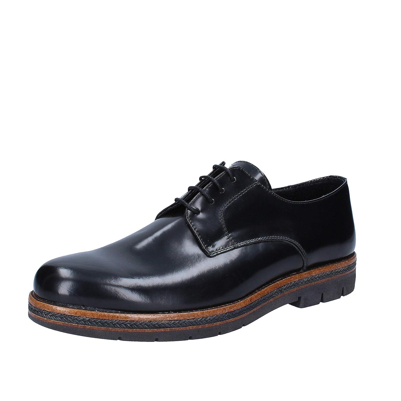 SALVO FERDI Oxfords-Shoes Mens Leather Black