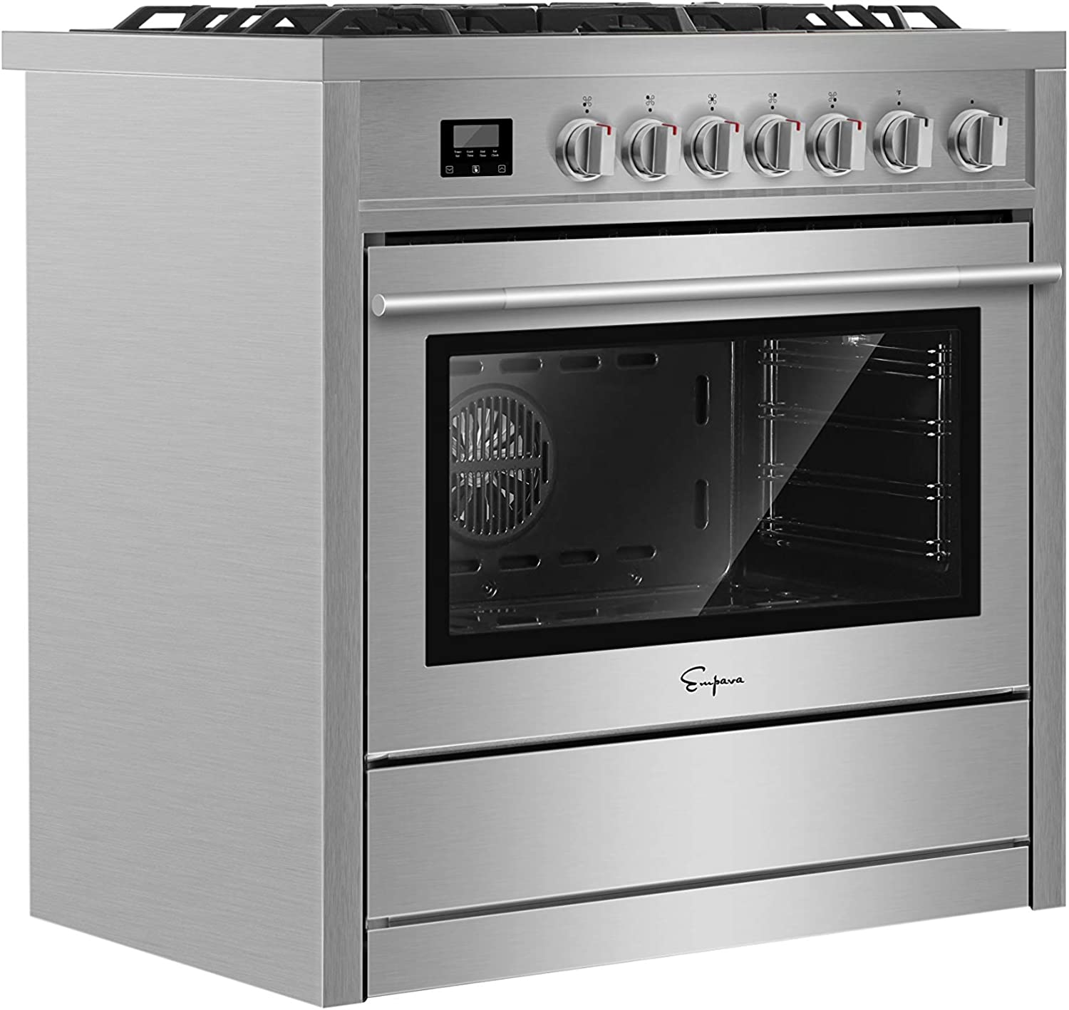Empava : Gas cooktop with downdraft