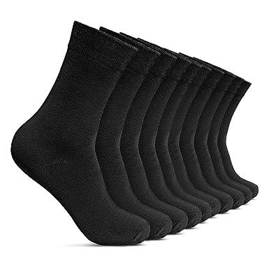 ROYALZ Calcetines de negocios para hombres 10 pares de ...