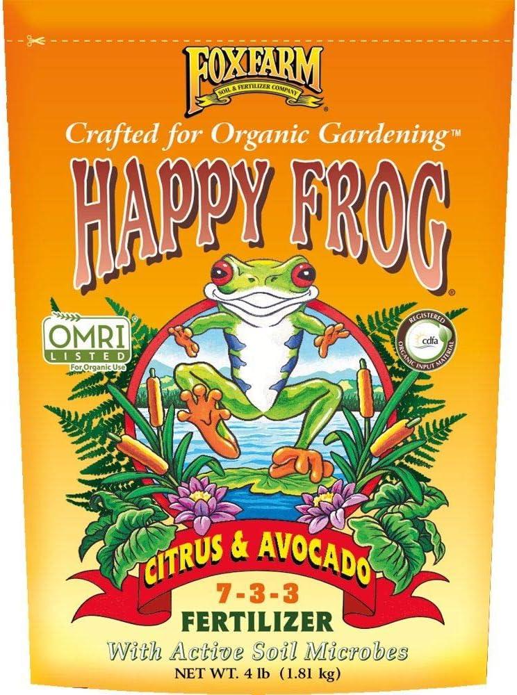 4lbs. Happy Frog Citrus and Avocado Organic Plant Fertilizer