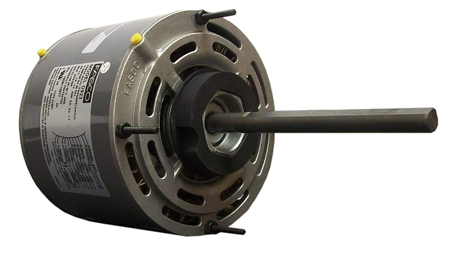 71yyyCTb6YL._SL1500_ fasco d923 5 6 inch direct drive blower motor, 1 3 hp, 208 230 fasco d923 wiring diagram at aneh.co
