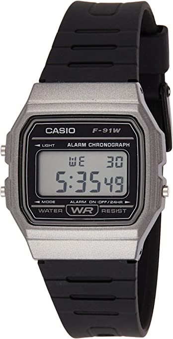 Casio F91WM-1B Digital