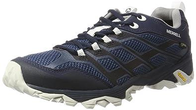 Merrell Moab FST GTX, Chaussures de Randonnée Basses Homme, Bleu (Navy), 44.5