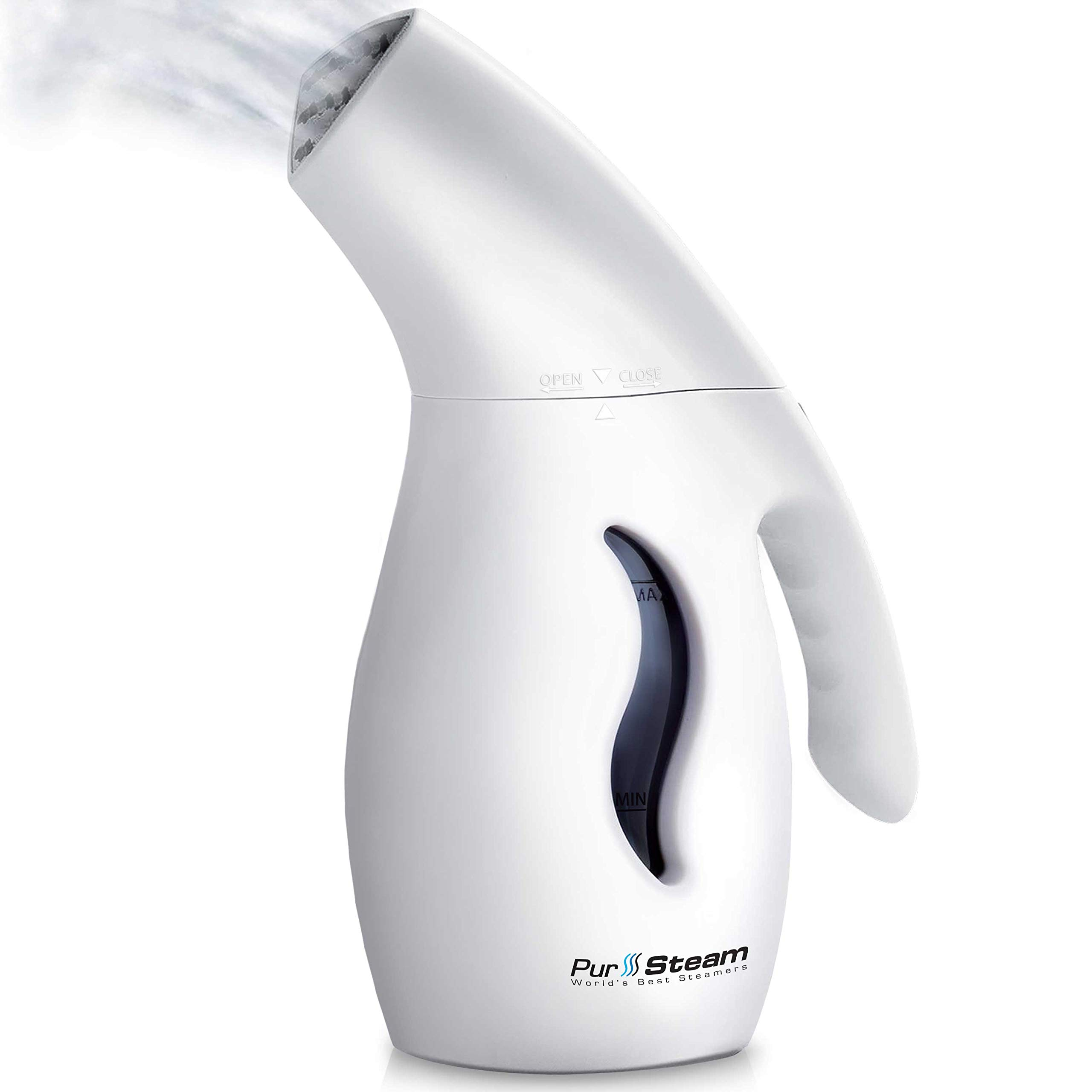PurSteam Elite Powerful 7-1 Clothes/Garment/Fabric Steamer Remove Wrinkles Steam Soften Clean Sanitize Sterilize and Defrost with UltraFast-Heat, Aluminum Element, Perfect for Home and Travel