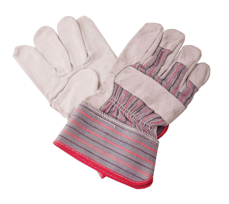 Shark Shark 14415 Leather Palmed Economy Work Gloves