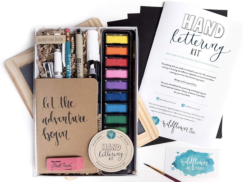 Hand Lettering Kit - Beginning Hand Lettering Set - DIY Hand ...